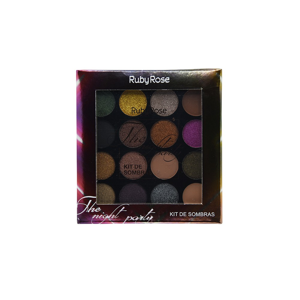 Ruby Rose Paleta de Sombras The Night Party