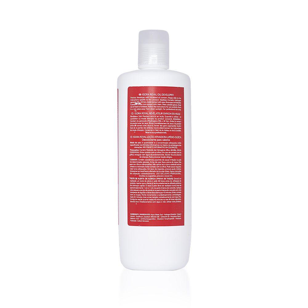 Schwarzkopf Água Oxigenada Igora Royal 30Vol  9% - 1000ml