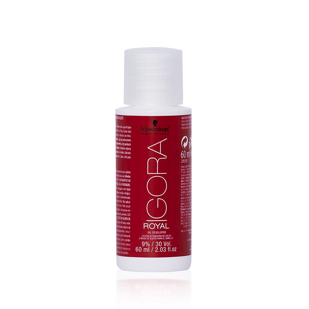 Schwarzkopf Água Oxigenada Igora Royal 30Vol 9% - 60ml