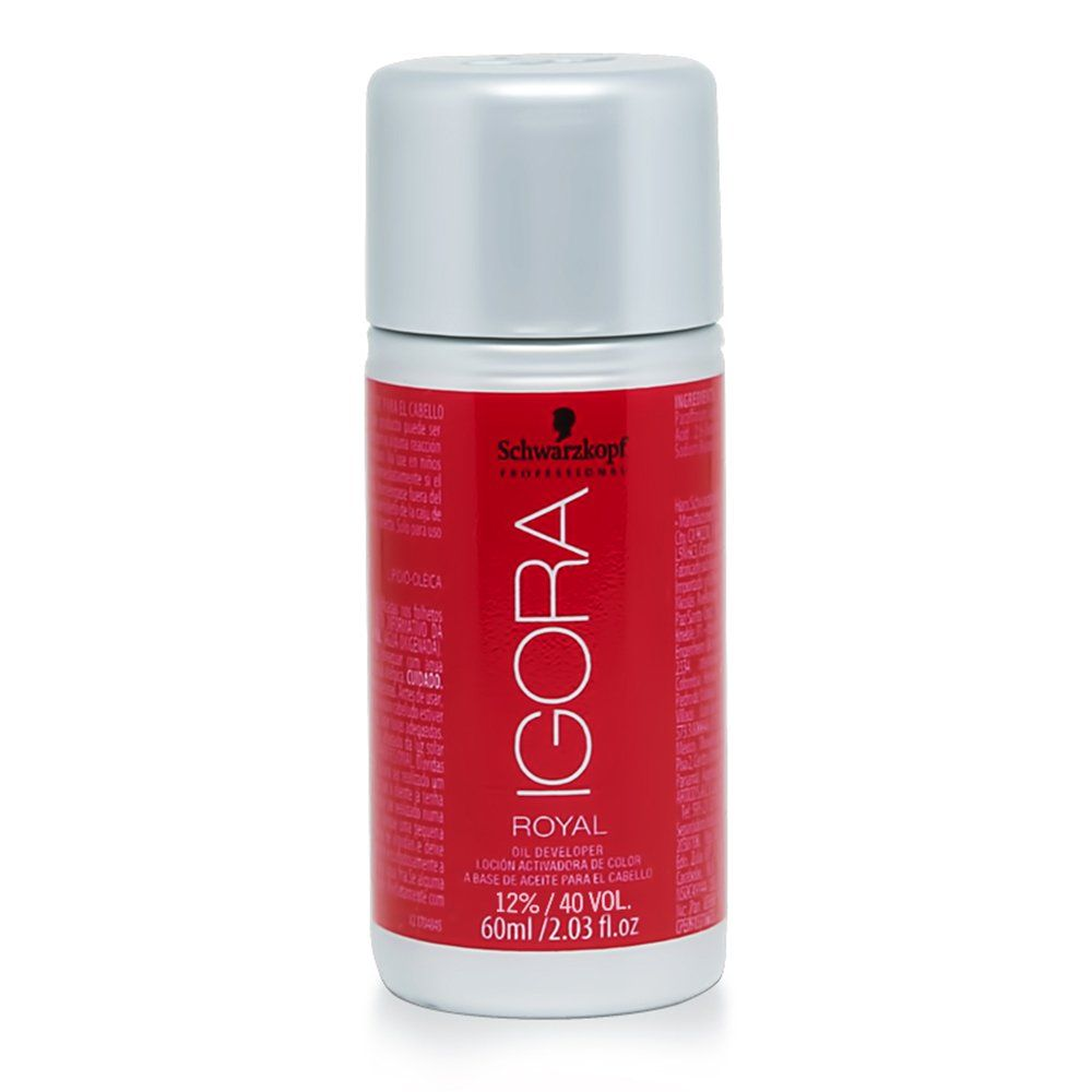 Schwarzkopf Agua Oxigenada Igora Royal 40Vol / 12 - 60ml