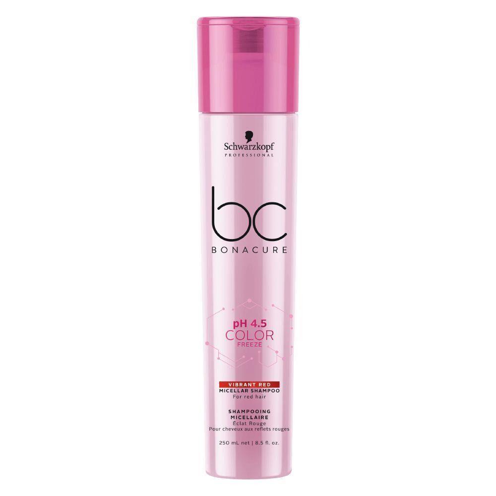 Schwarzkopf Bonacure Shampoo Color Freeze Vibrant Red - 250ml