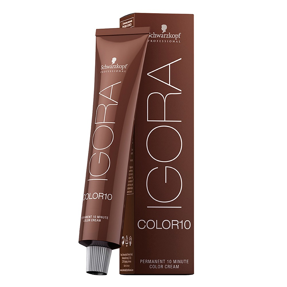 Schwarzkopf IGORA Color 10 Extra Coverage 6.00 Louro Escuro Natural Extra 60g