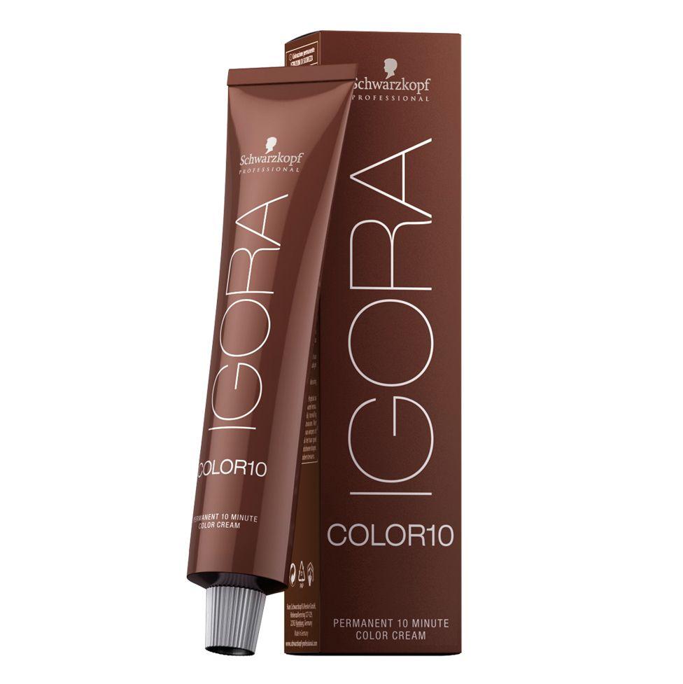 Schwarzkopf Igora Color 10 Fashion 7.12 Louro Médio Cinza Fumê 60g