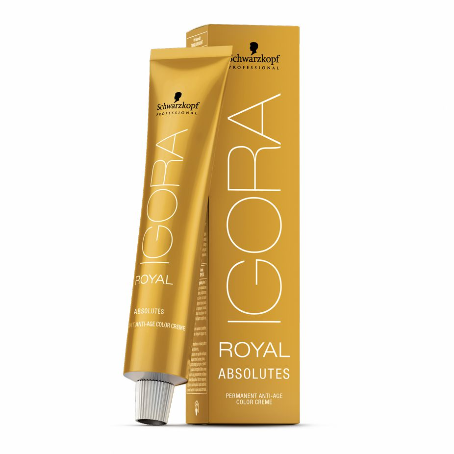 Schwarzkopf Igora Royal Absolutes 7.50 Louro Médio Dourado Natural 60g