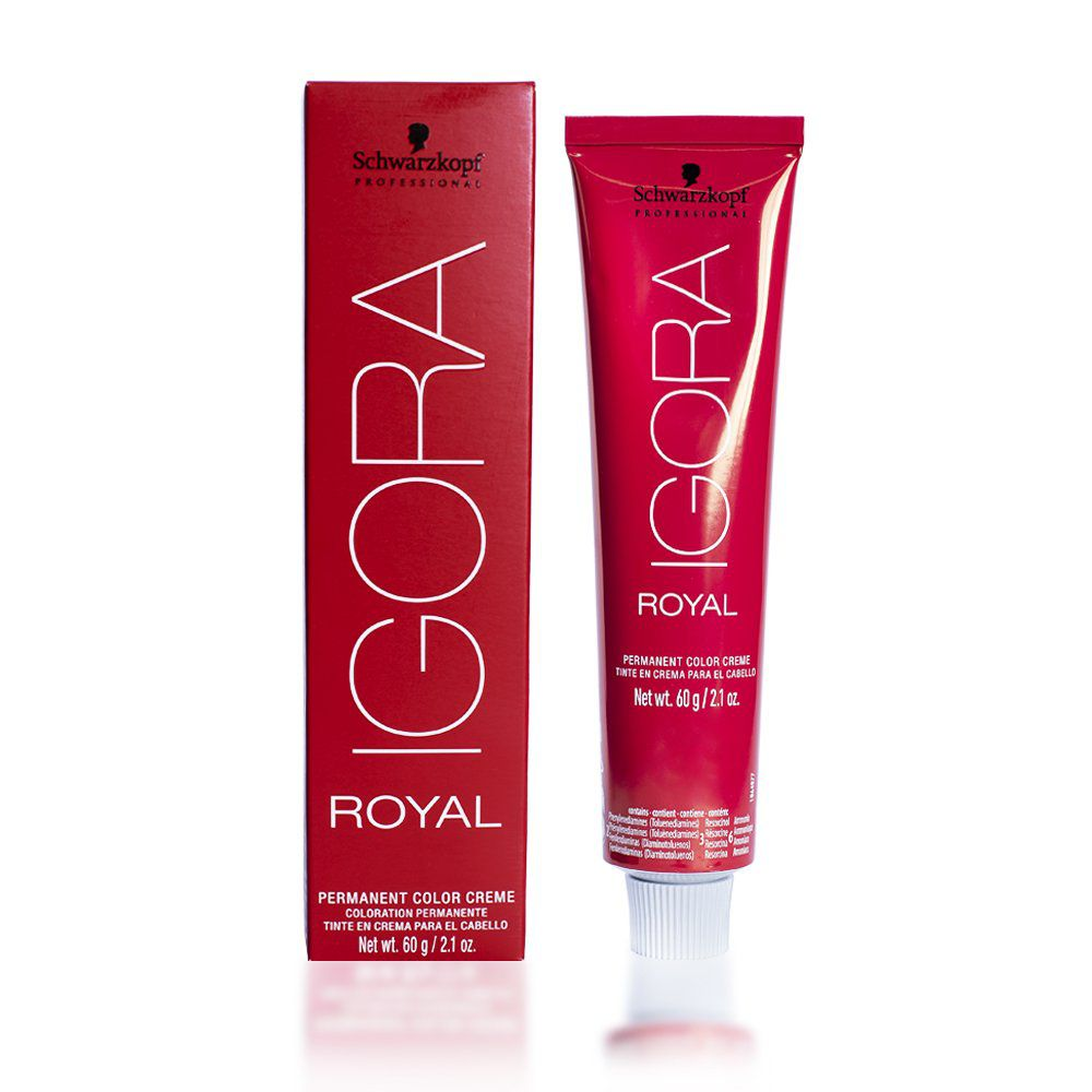 Schwarzkopf Igora Royal HD 6.0 Louro Escuro Natural 60g