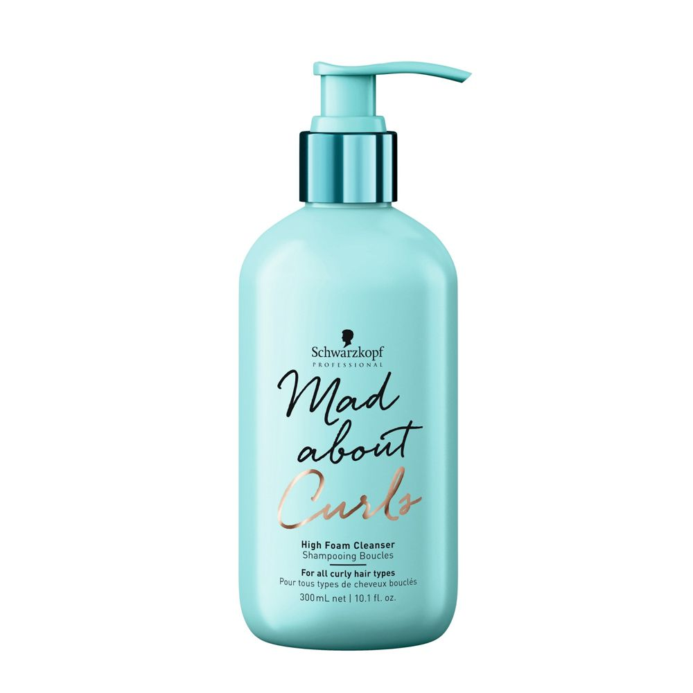 Schwarzkopf Mad About Curls - Shampoo Extra Espuma - 300ml