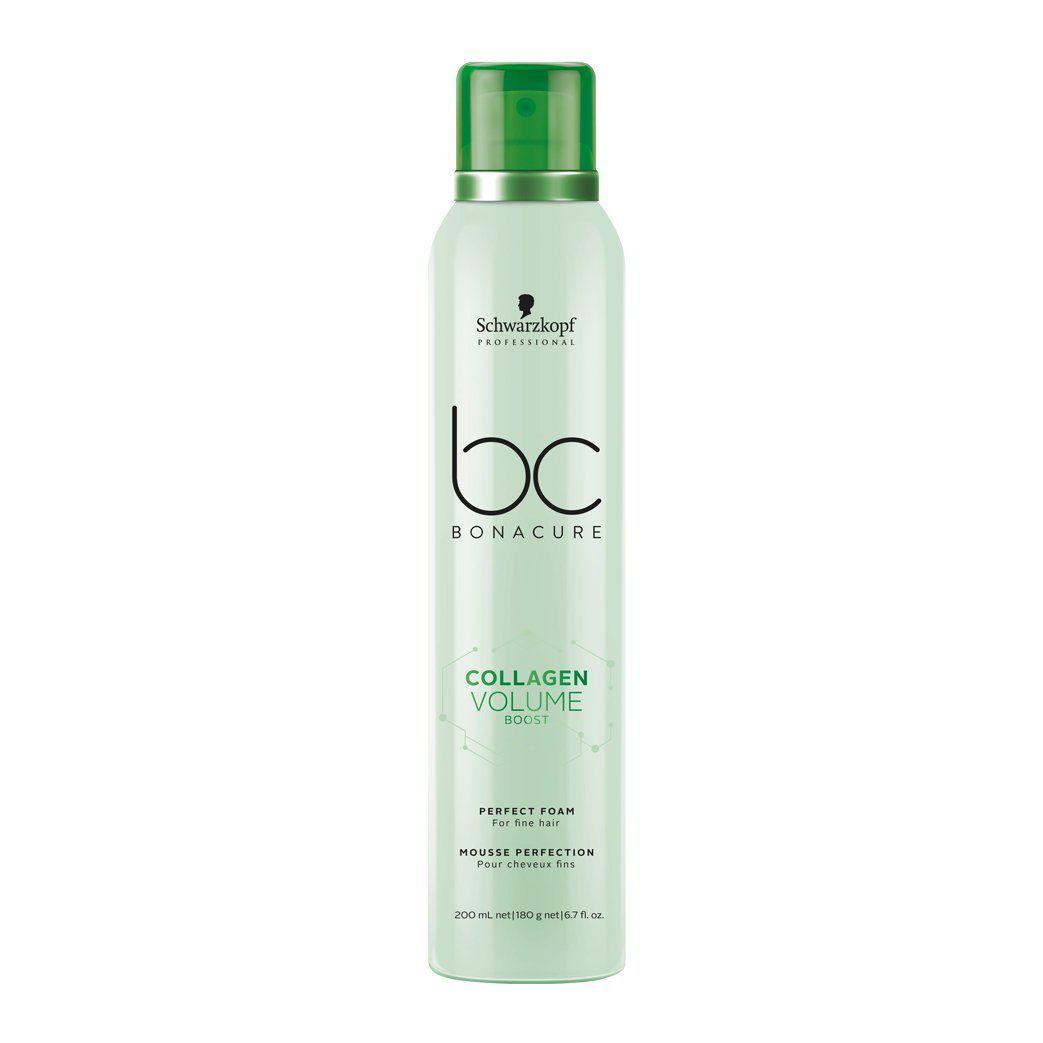 Schwarzkopf Professional - BC Bonacure - Collagen Volume Boost - Espuma de Perfeição 200 ml