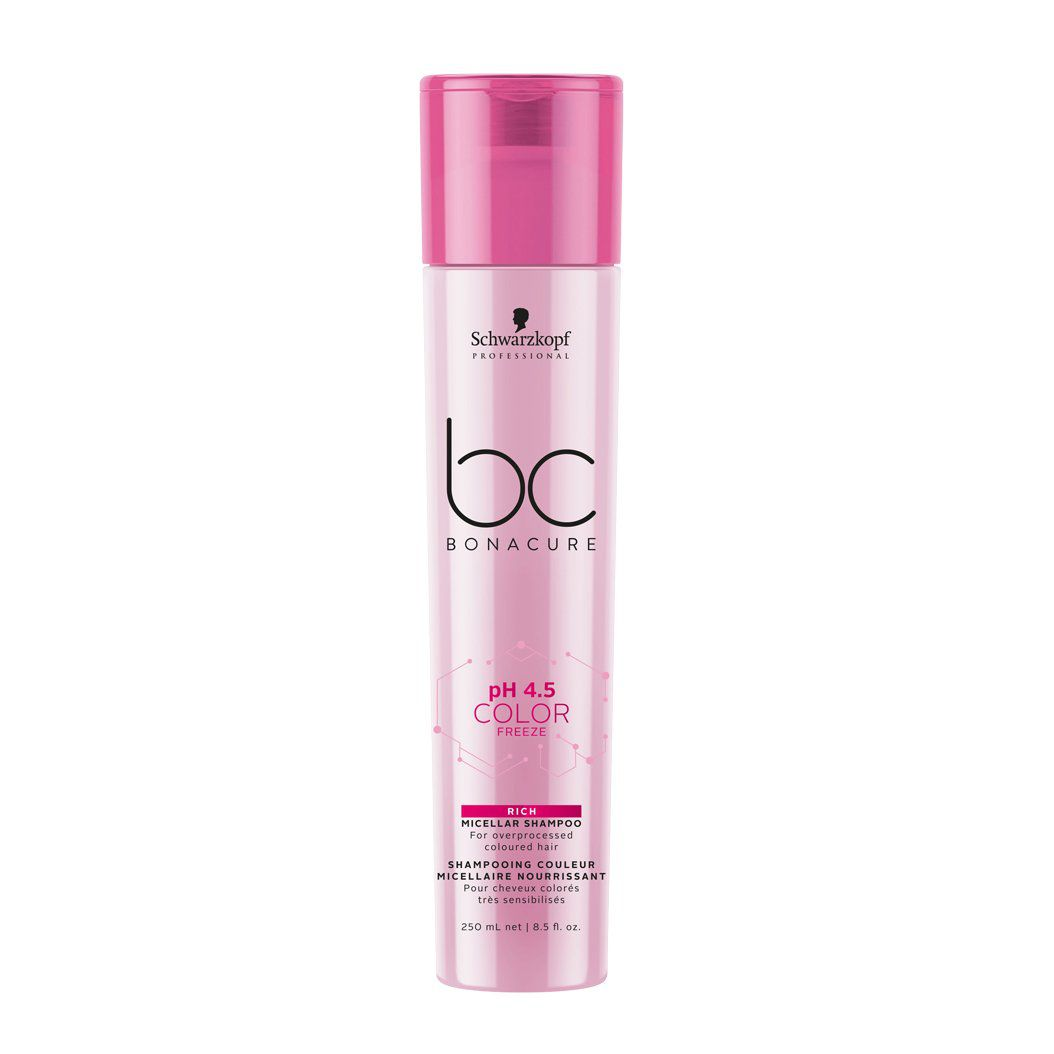 Schwarzkopf Professional - BC Bonacure - pH 4.5 Color Freeze - Shampoo Micelar Enriquecido 250 ml