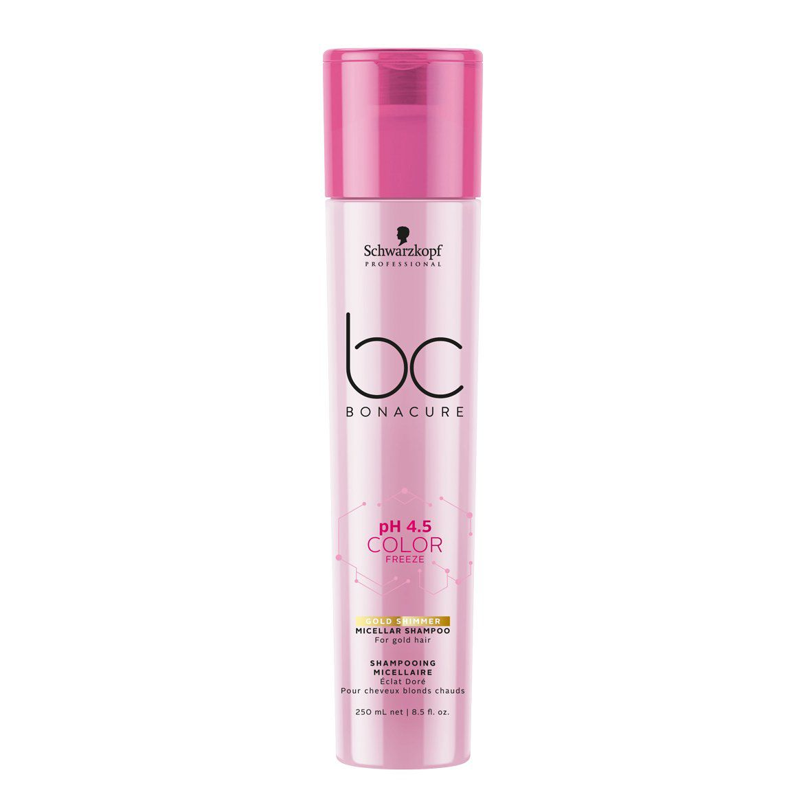 Schwarzkopf Professional - BC Bonacure - pH 4.5 Color Freeze - Shampoo Micelar Gold 250 ml
