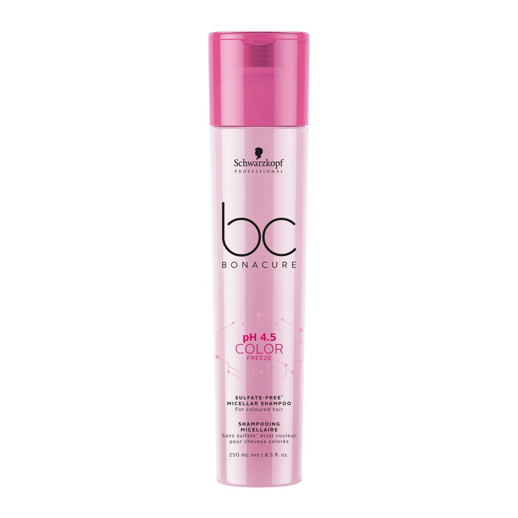 Schwarzkopf Professional - BC Bonacure - pH 4.5 Color Freeze - Shampoo Micelar Sem Sulfatos 250 ml