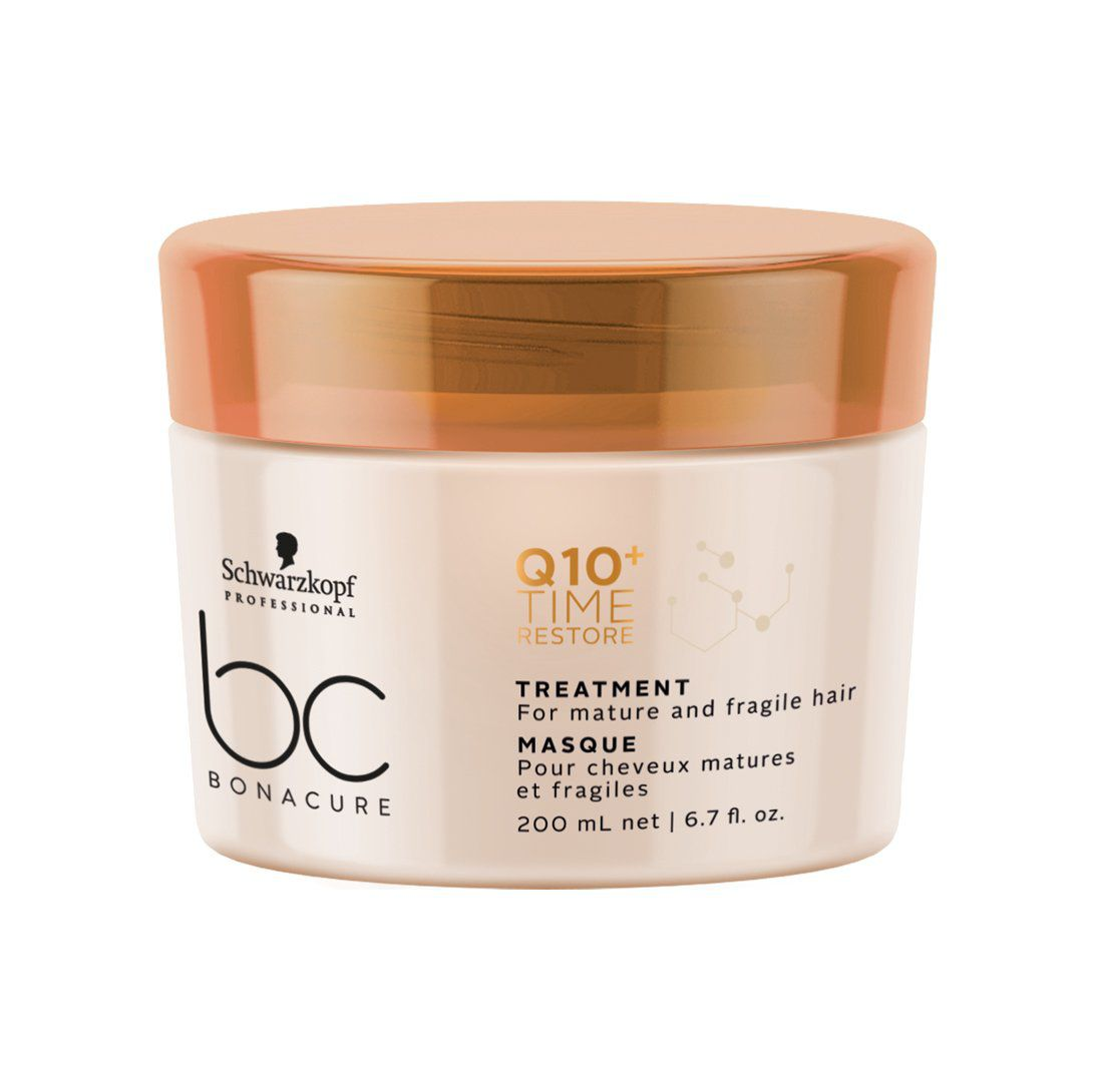 Schwarzkopf Professional - BC Bonacure - Q10+ Time Restore - Máscara 200 ml