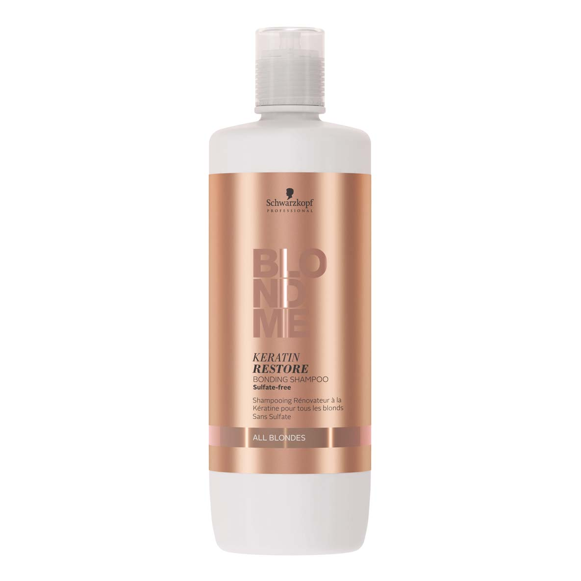 Schwarzkopf Professional BlodMe Tone Enhancing Shampoo para Todos os Louros 1000ml