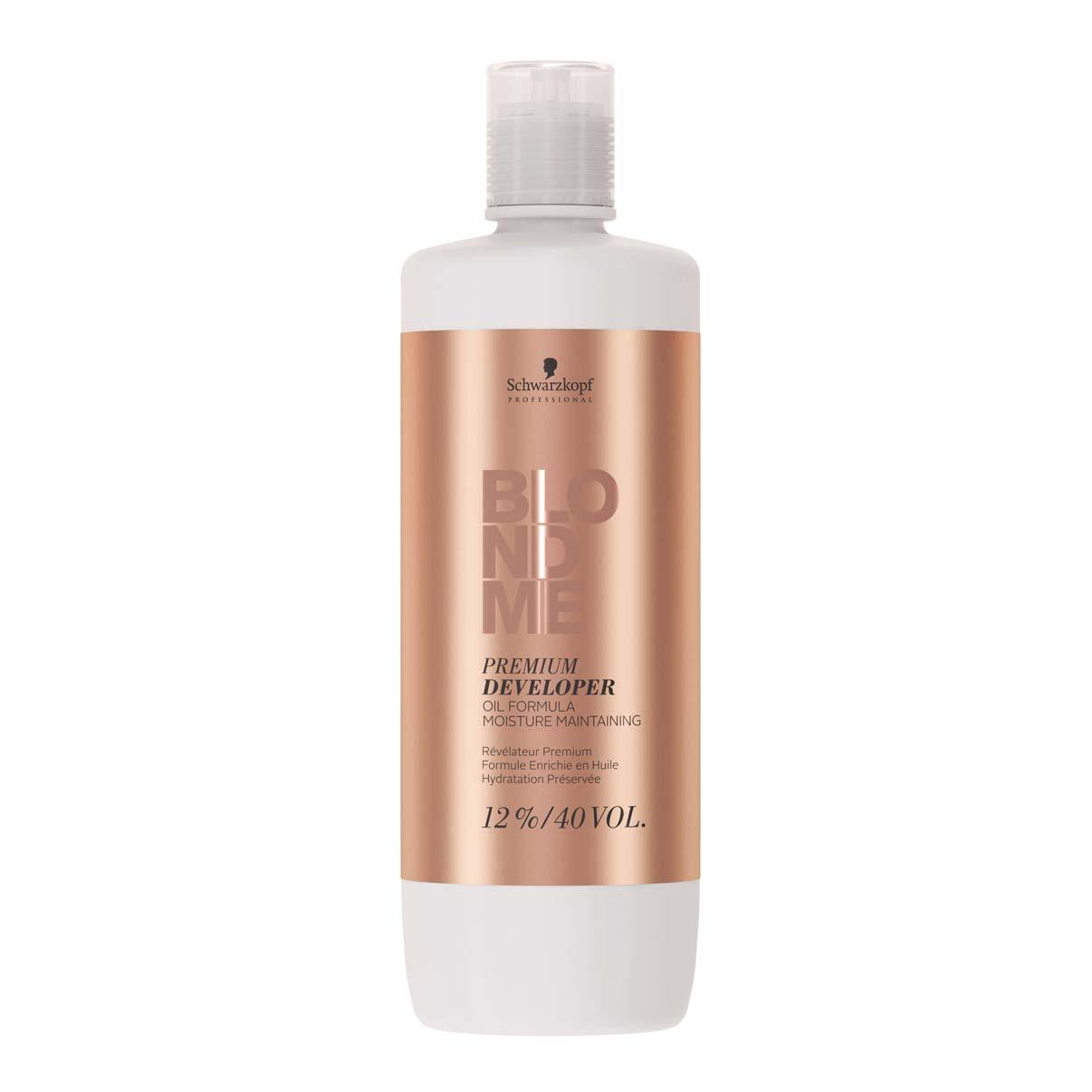Schwarzkopf Professional BlondMe Loção Ativadora Premium 12% 40Vol 1000ml