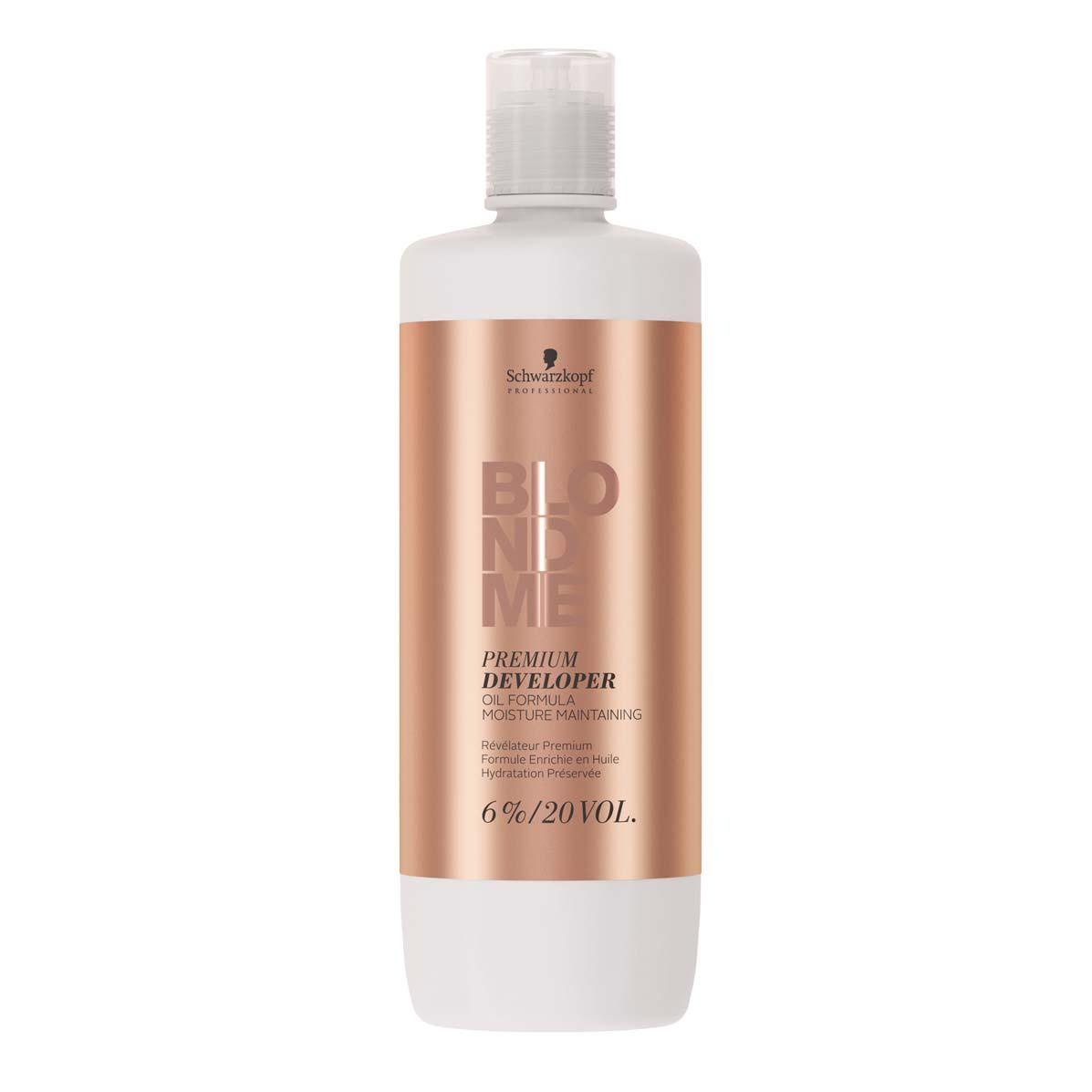 Schwarzkopf Professional BlondMe Loção Ativadora Premium 6% 20Vol 1000ml