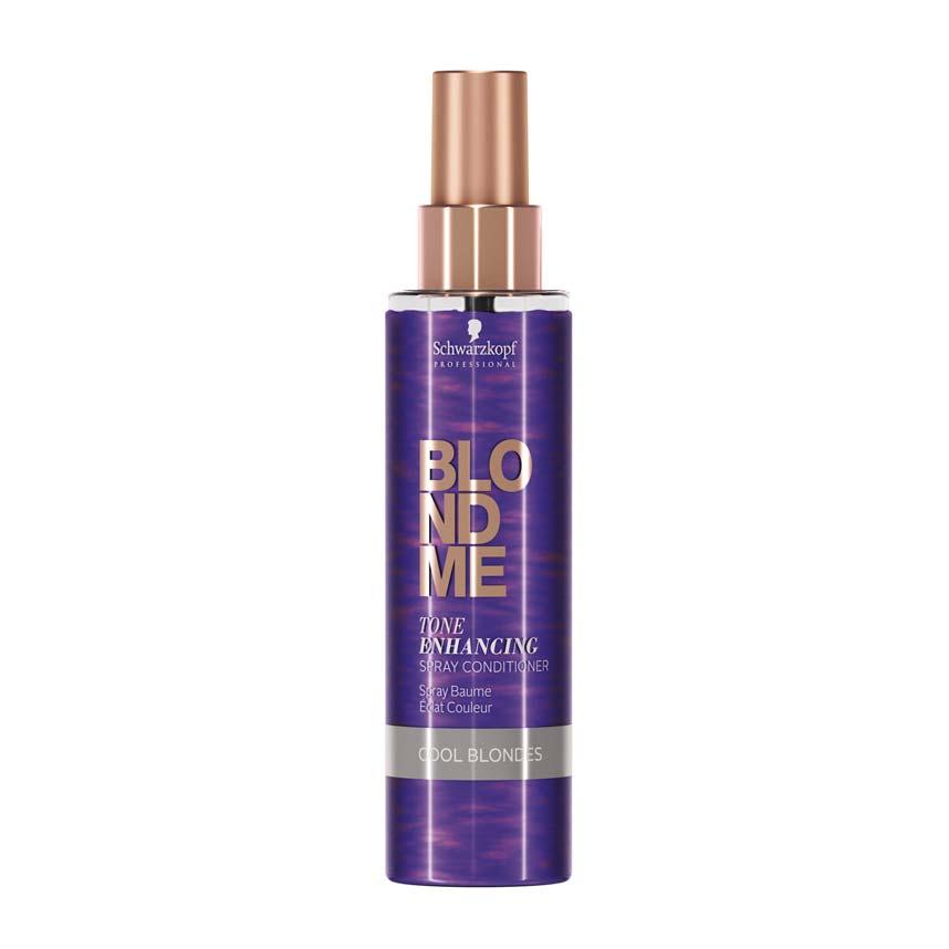 Schwarzkopf Professional BlondMe Tone Enhancing Condicionador Spray para Louros Frios 150ml