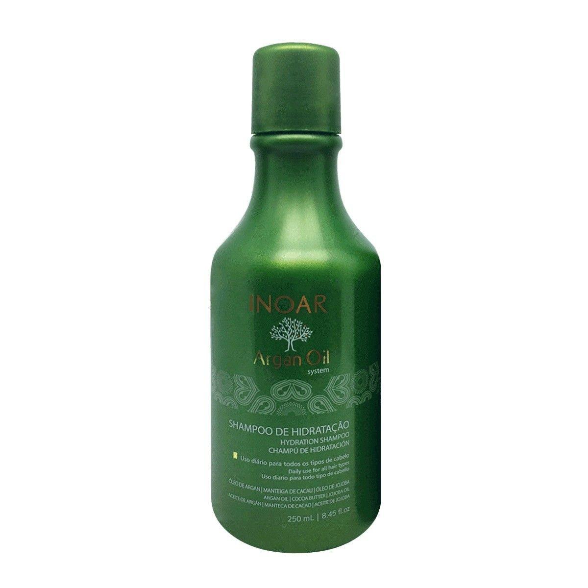 Inoar Shampoo Hidratação Argan Oil System - 250ml