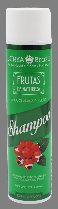 Surya Brasil Shampoo Frutas da Natureza Amla, Guaraná e Melão - 300ml