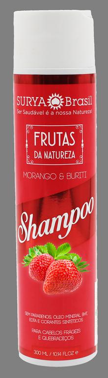 Surya Brasil Shampoo Frutas da Natureza Morango e Buriti - 300ml