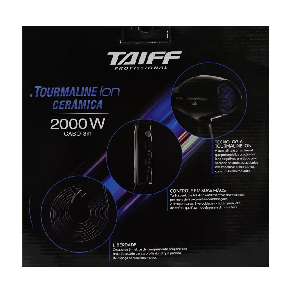 Taiff Secador Tourmaline Íon Cerâmica 127V 2000W