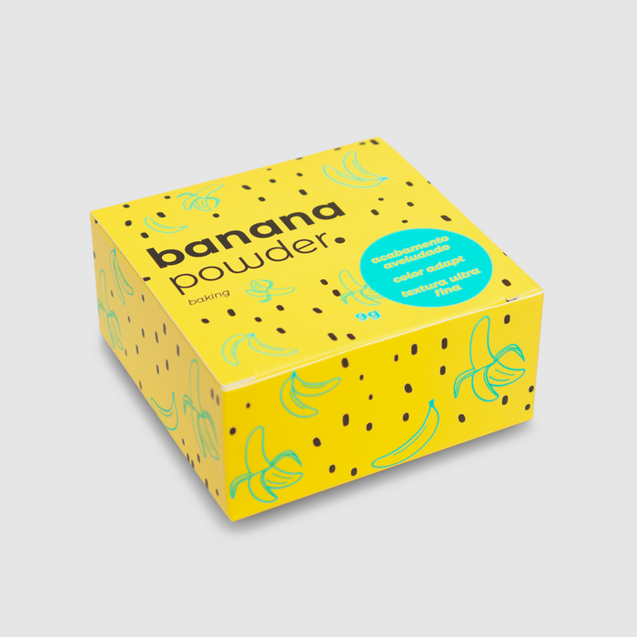 Vizzela Banana Powder - Pó Solto Acabamento Aveludado 9g