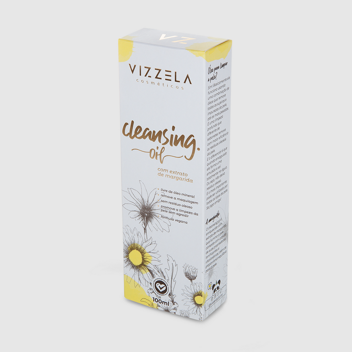 Vizzela Cleansing Oil - Óleo de Limpeza para Pele 100ml