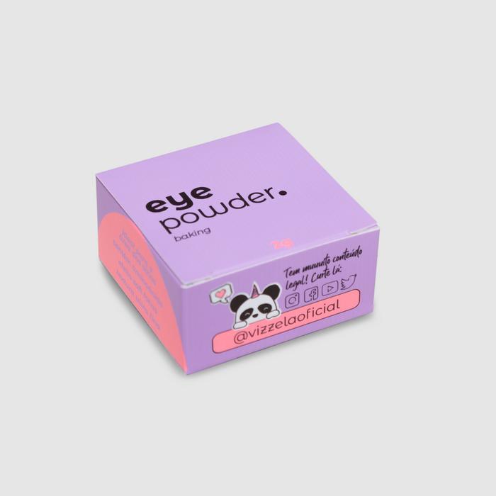 Vizzela Eye Powder cor 01 - Pó Solto Ideal para a área dos olhos 9g