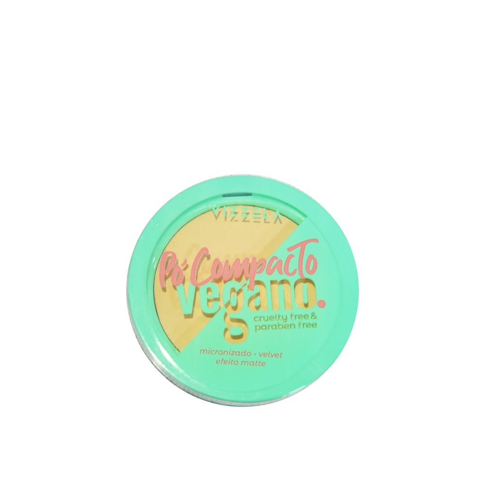 Vizzela Pó Compacto Cor 02 Vegano - 9g