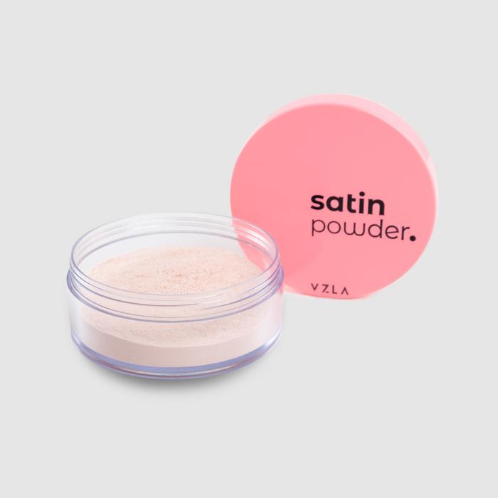Vizzela Satin Powder cor 01 - Pó Solto Acabamento Acetinado 9g