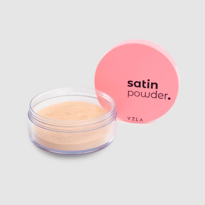 Vizzela Satin Powder cor 02 - Pó Solto Acabamento Acetinado 9g
