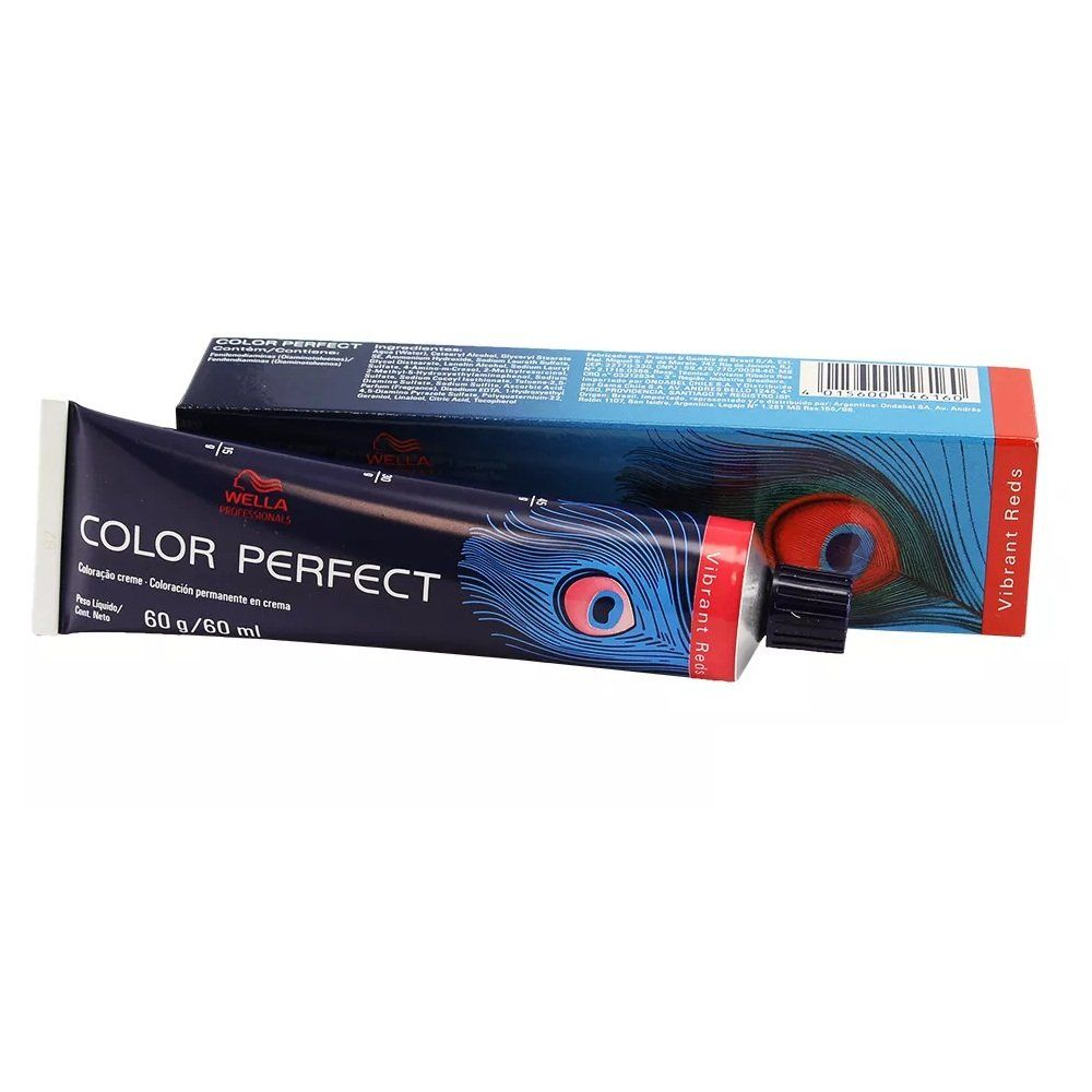 Wella Color Perfect 8.4 Louro Claro Avermelhado - 60g