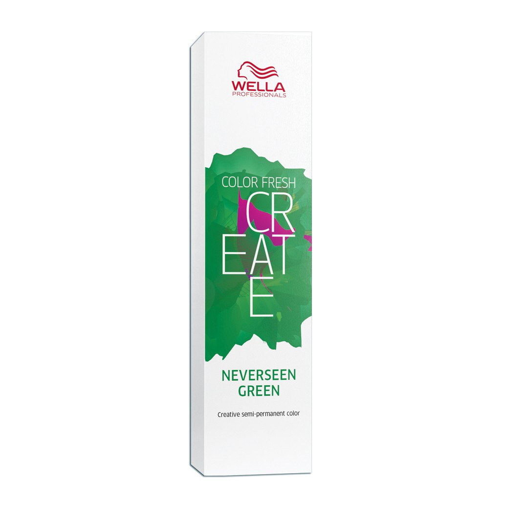 Wella Professionals - Color Fresh Create - Coloração Fantasia Cor Neverseen Green 60 ml