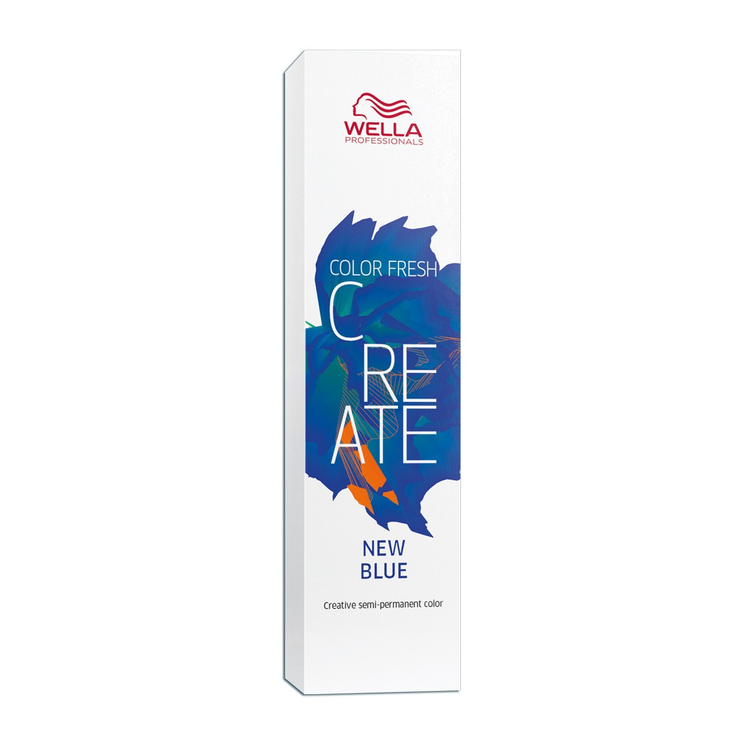 Wella Professionals Color Fresh Create  Coloração Fantasia Cor  New Blue 60 ml
