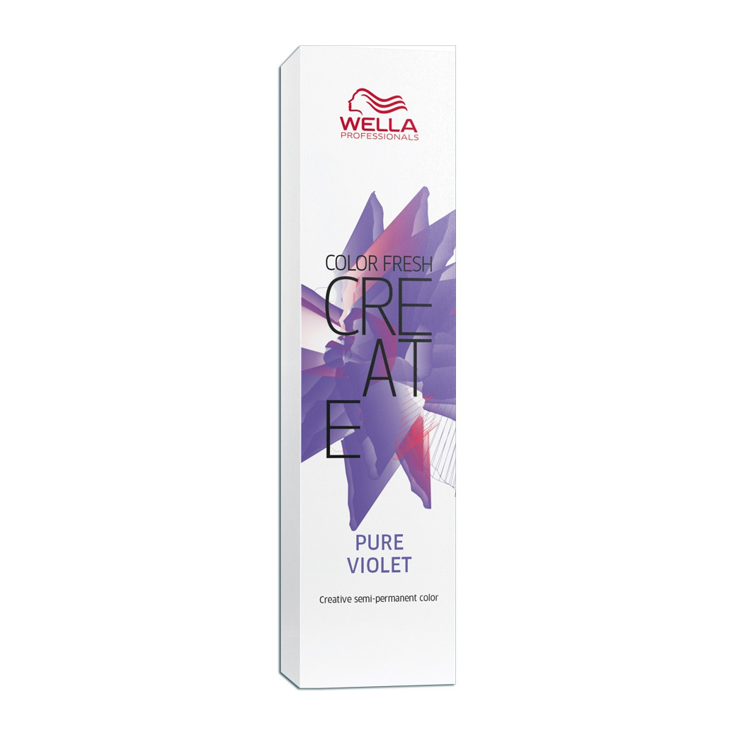 Wella Professionals Color Fresh Create  Coloração Fantasia Cor Pure Violet 60 ml