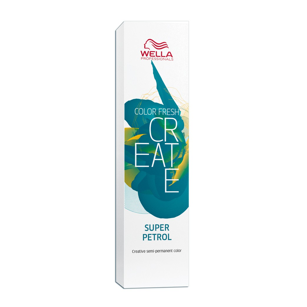 Wella Professionals  Color Fresh Create Coloração Fantasia Cor Super Petrol 60 ml