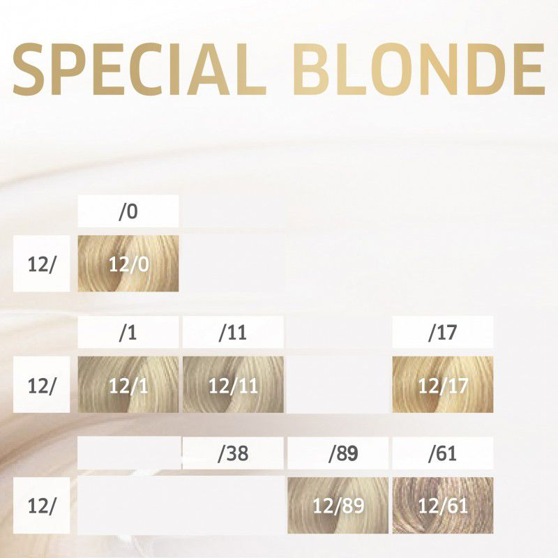 Wella Professionals Color Perfect Special Blonde 12.89 Louro Pérola Cendré Especial 60g