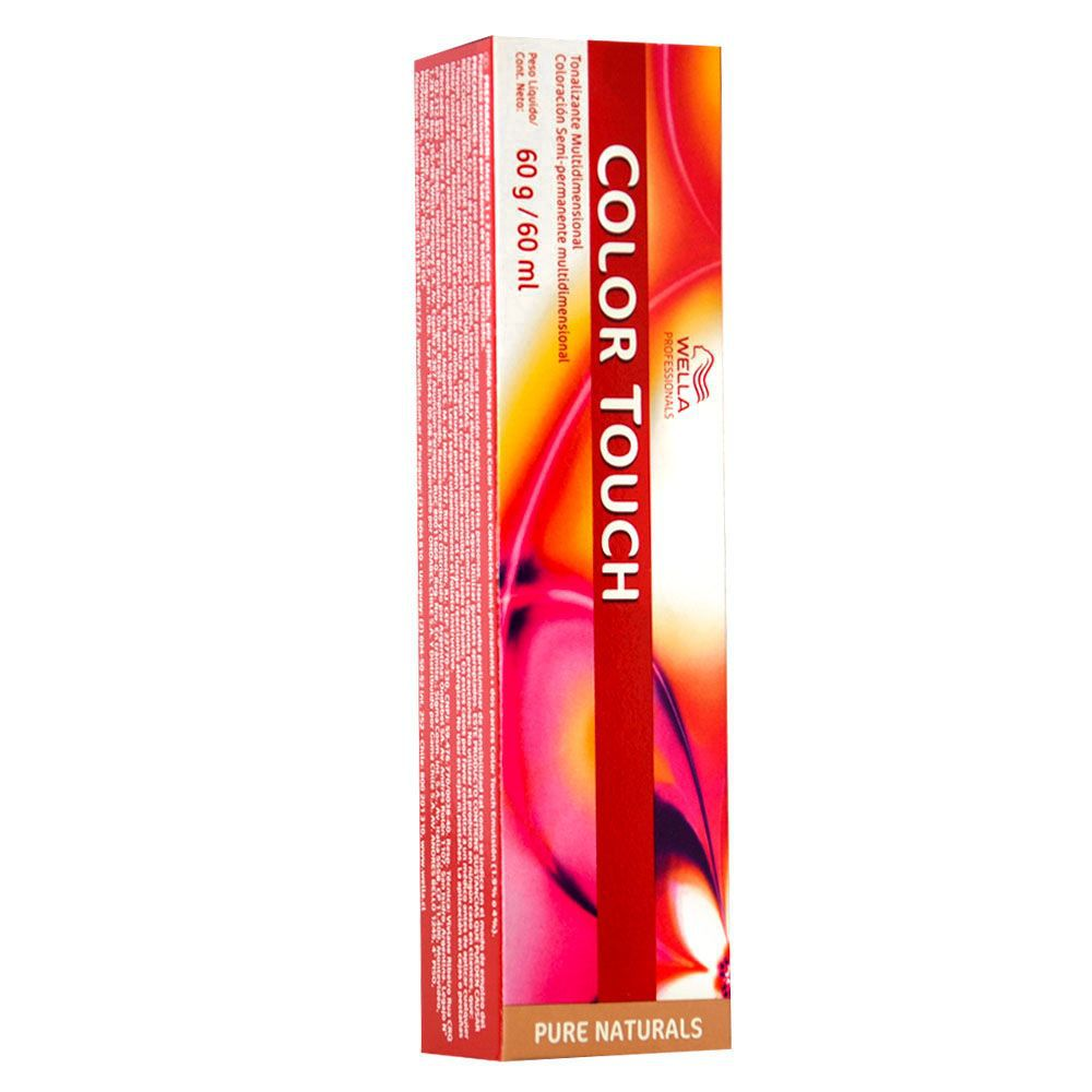 Wella Professionals Color Touch Pure Naturals 6.7 Louro Escuro Marrom - 60g