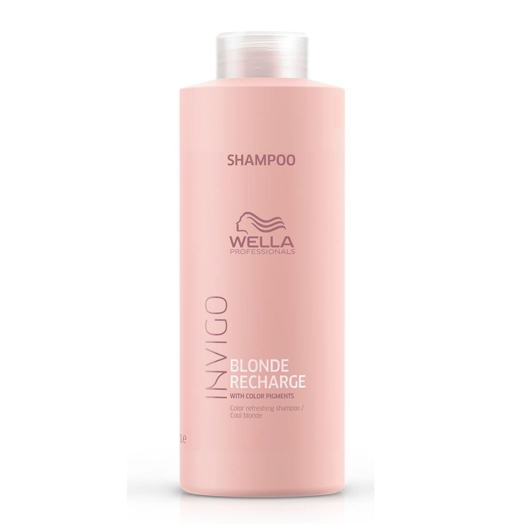 Wella Professionals Invigo Shampoo Blonde Recharge 1000ml