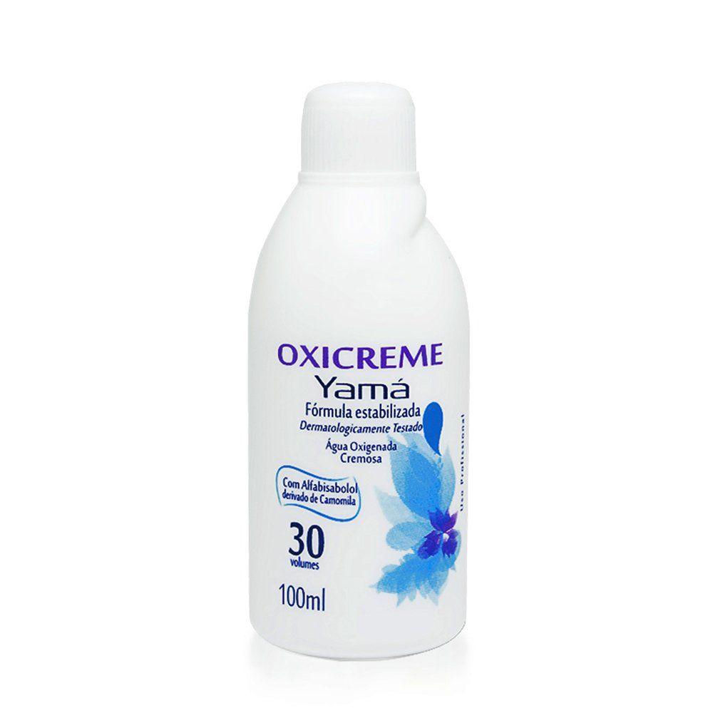 Yamá Água Oxigenada Oxicreme 30Vol 100ml