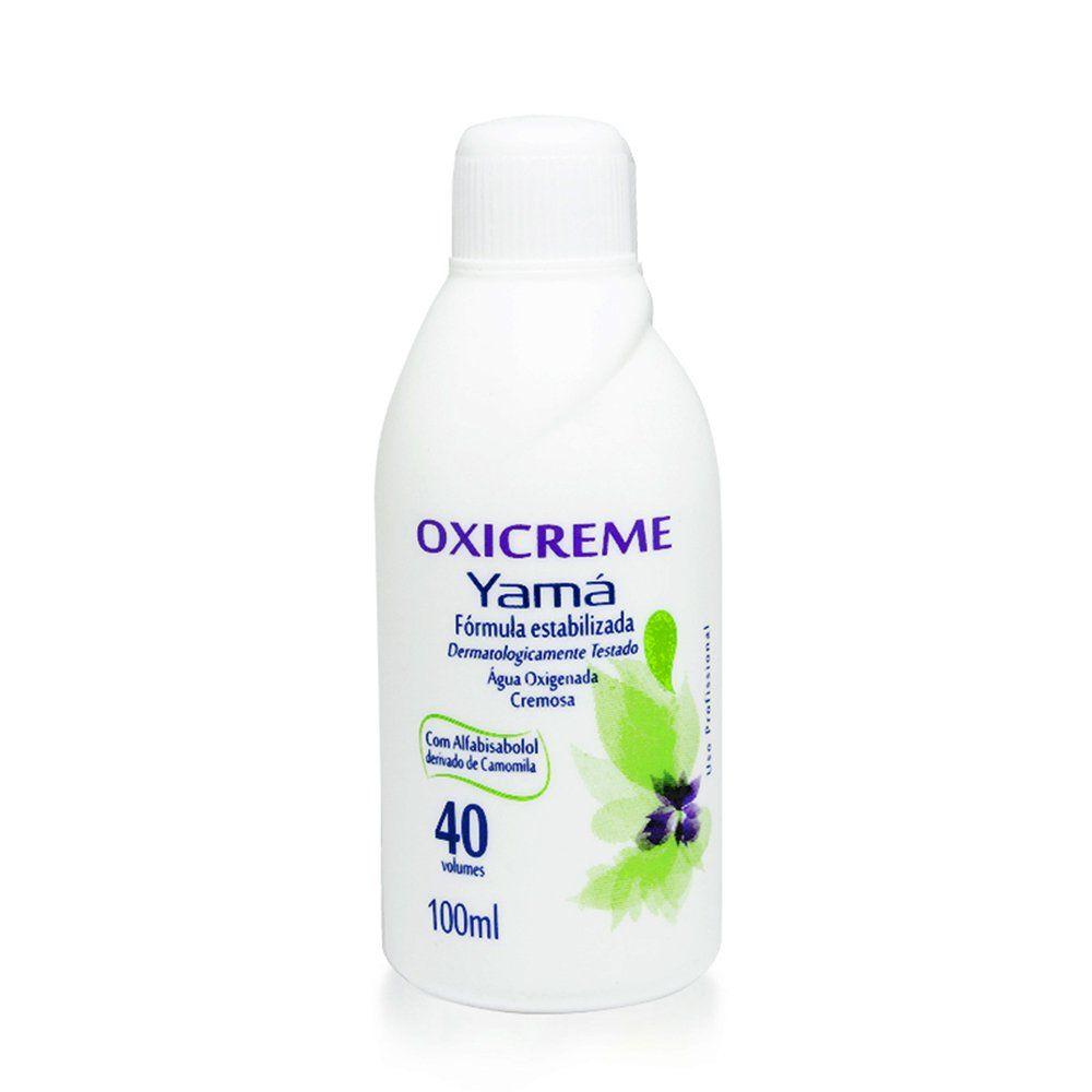 Yamá Água Oxigenada Oxicreme 40Vol 100ml