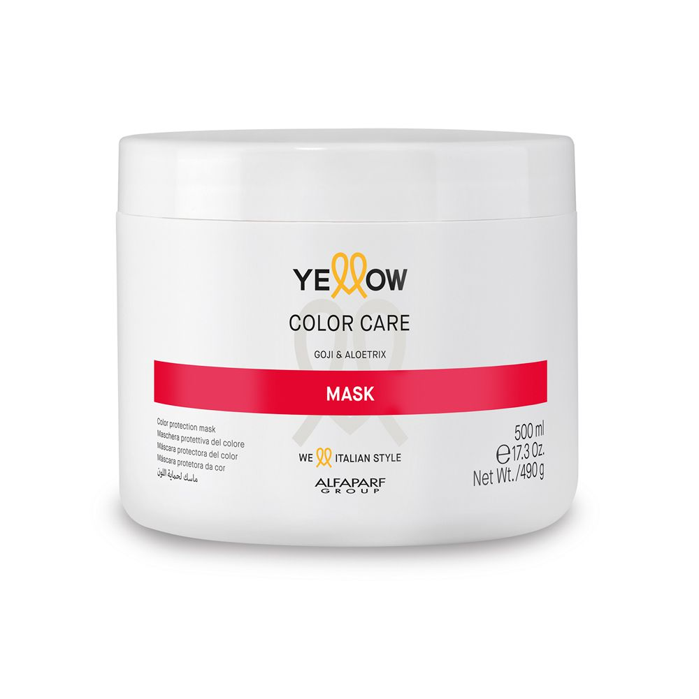 Yellow Care Máscara Protetora da Cor - 500ml