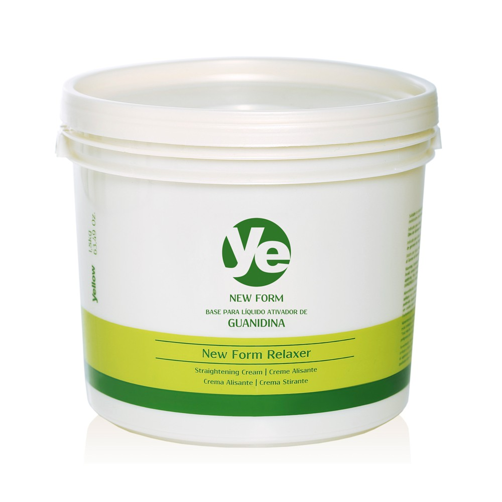 Yellow Creme Alisante Guanidina Form Relaxer - 1,8kg