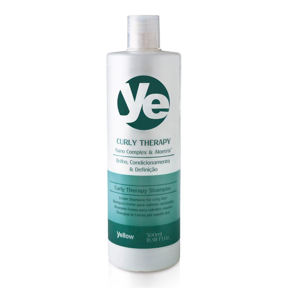 Yellow Curly Therapy Shampoo para Cabelos Cacheados - 500ml
