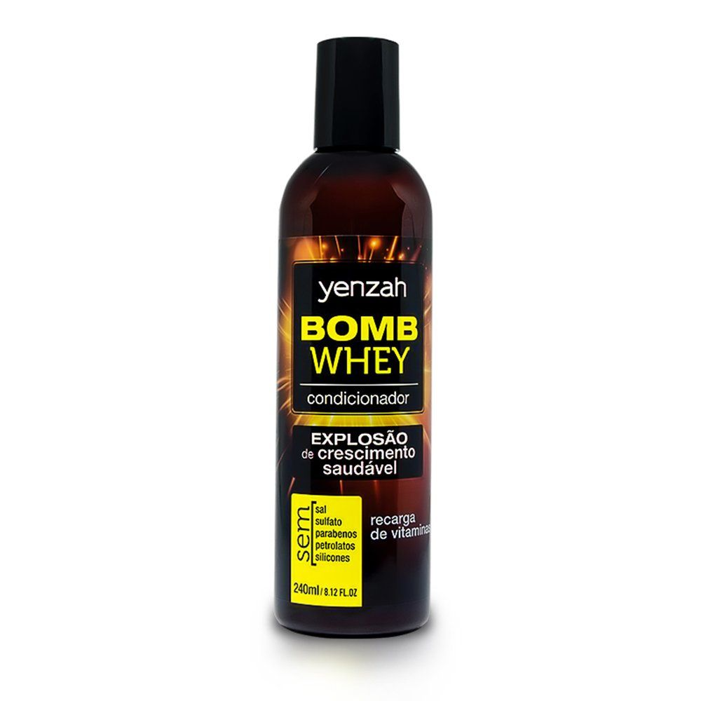 Yenzah Condicionador Bomb Whey - 240ml