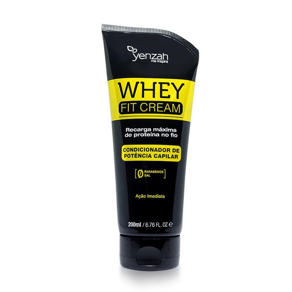 Yenzah Condicionador Whey Fit Cream - 200ml