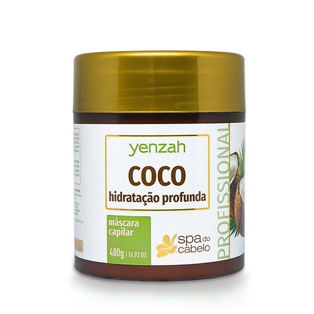 Yenzah Mascara SPA do Cabelo Coco - 480g