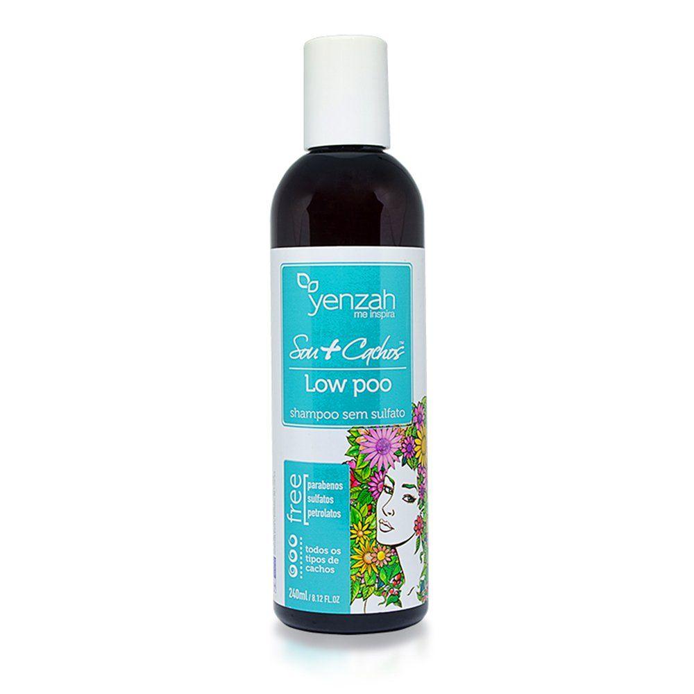 Yenzah Shampoo Low Poo Sou  Cachos - 240ml