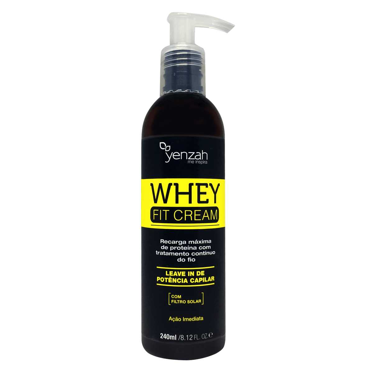 Yenzah Leave-In Whey Fit Cream - 240ml