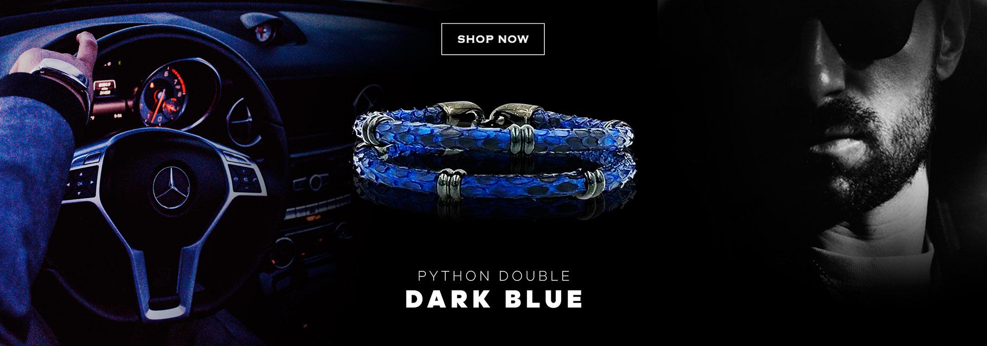 Python Double Blue