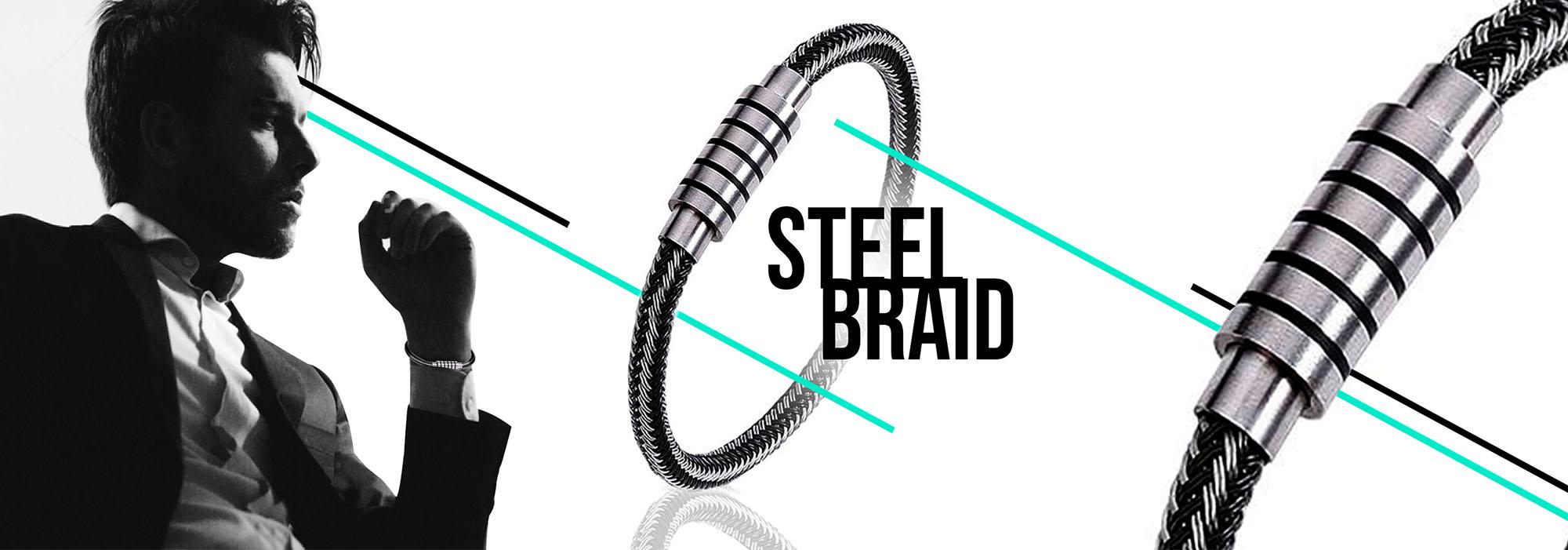 Aproveite Lançamento Steel Braid