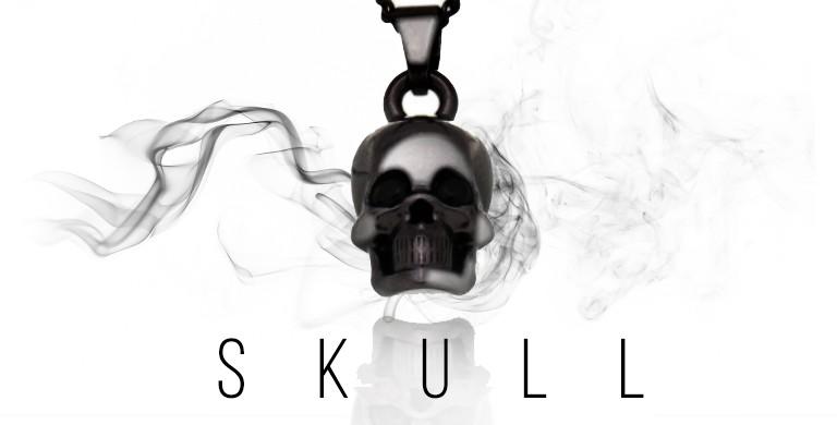 Colar Skull Black
